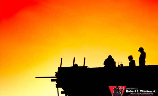 construction worker workers' comp