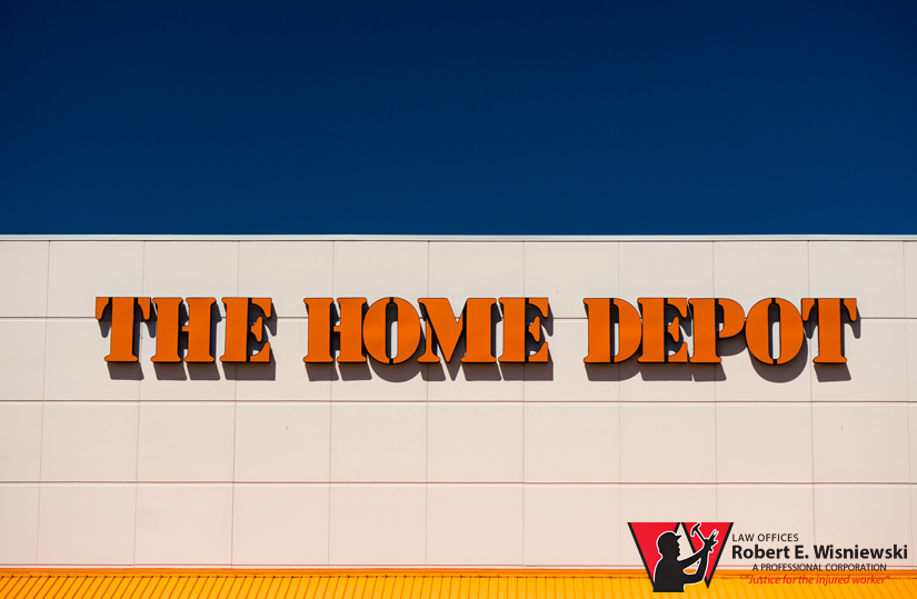 home depot workers' compensation